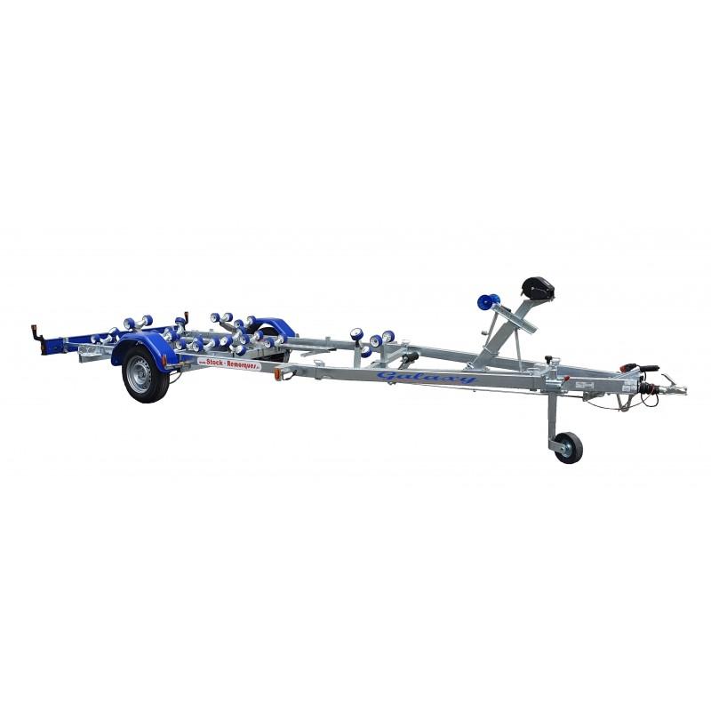5,50 m - 1350 kg - 1 essieux - SUN WAY - Remorque Porte-Bateau