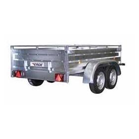 Remorque 2m41x1m35 750kg pro