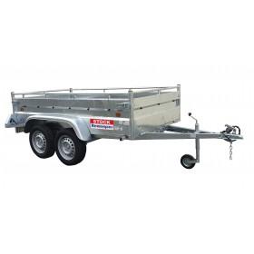 Remorque Robust 2 m 53 x 1 m 34 - 750kg