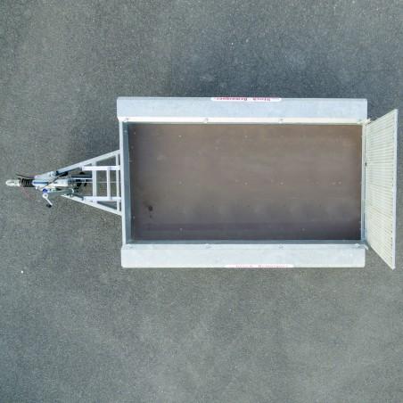 remorque transport machine  2700kg - 3M