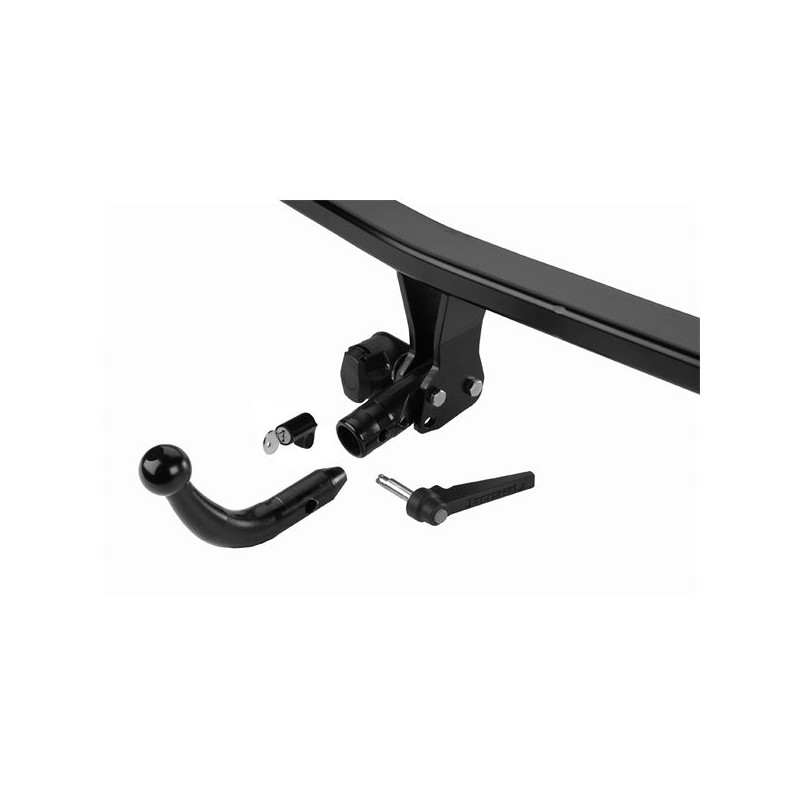 Ford B-max 12-19 attelage démontable sans outils