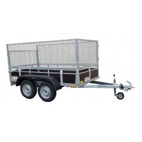 Remorque 2 m 57 x 1 m 30 - 750kg