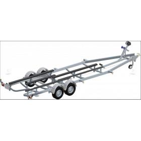 remorque 2700 kg 7m60
