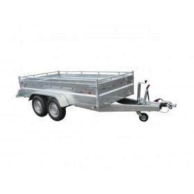 Remorque 300 x 150 x 50 Robust PTAC de 1500 a 2500 kg