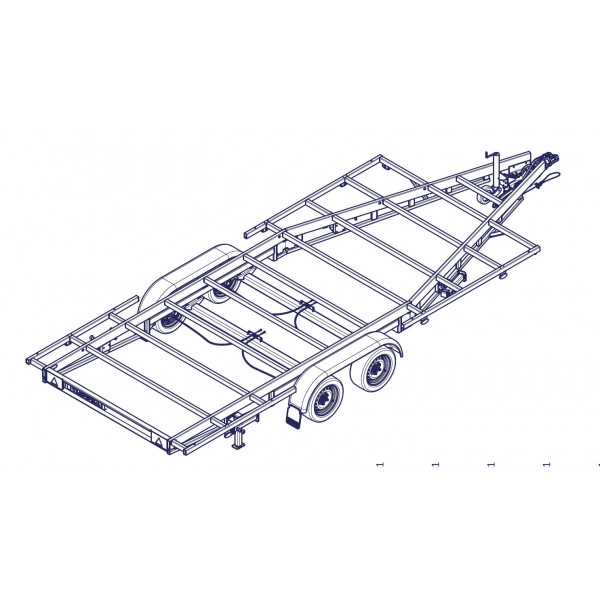 TH 5m40 P - 3500kg 2 x 1800 kg